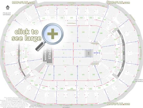 verizon center seating plan verizon center seating chart with rows tickets harry