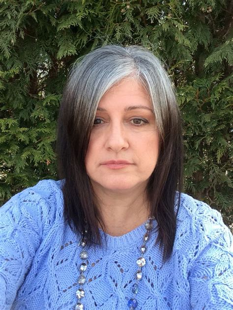 hispanic grey hair transition transitioning series 1 transitioning from relaxed or