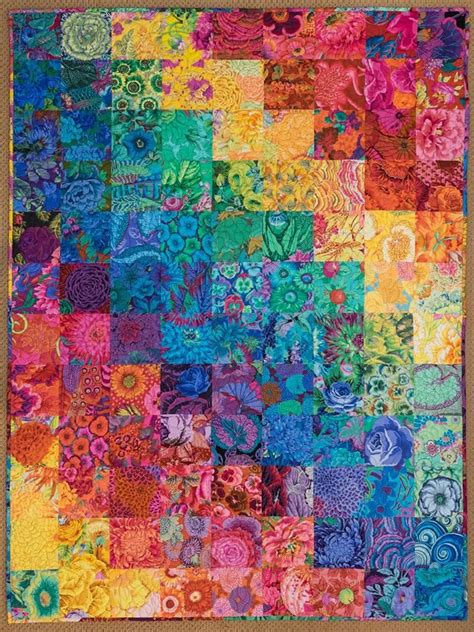 Kaos 3d Umakuka Batik Pattern hill enzenberger from kaffe fassett collective this is a quilt i finished recently i ve