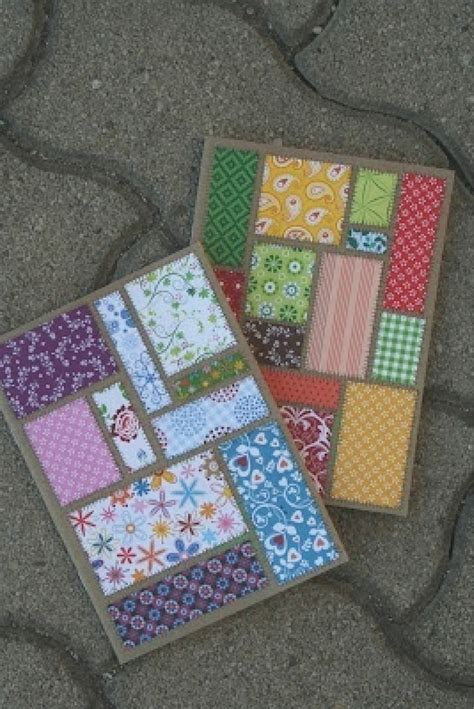Patchwork Cards - patchwork card card