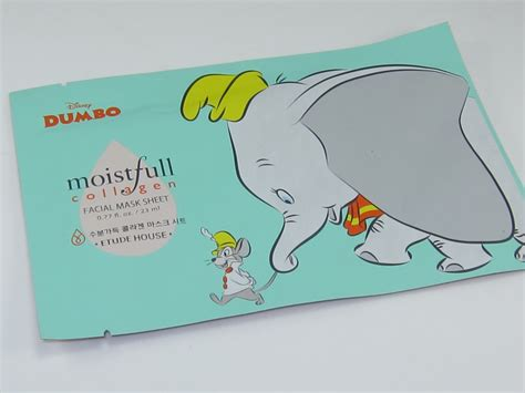 etude house dumbo moistfull collagen mask sheet review musings of a muse