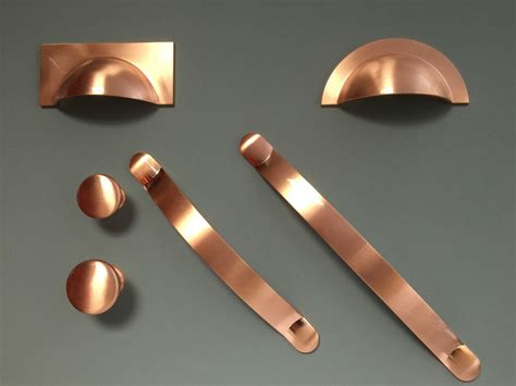 Handles For Cabinet Doors Brushed Copper Handles Cups Knobs Pulls Bows For Kitchen Cabinet Doors Drawers Ebay