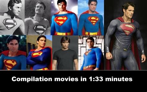 actor in superman movie 2013 superman movies compilation movies 1948 1951 1978
