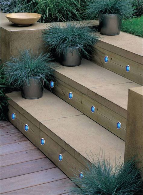 Patio Step Lights Bulbrite Introduces Color Changing Led Step Lights