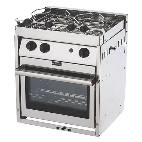 electric boat stove force 10 2 burner gas stove gimbal galley west marine