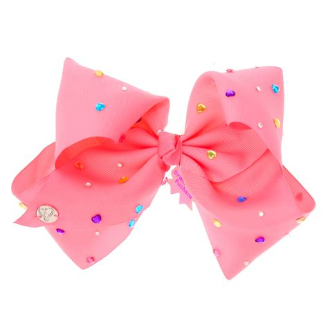 big bow pictures jojo siwa large drama free fuschia signature hair bow s us