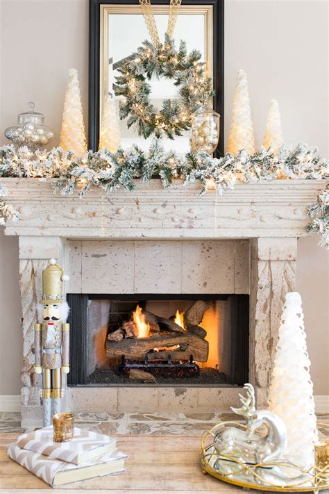 elegant fireplace christmas decorating ideas 15 totally pin worthy fireplace mantel ideas pretty my