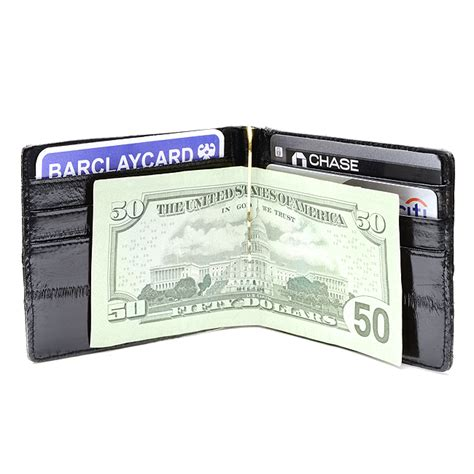 Credit Card Skins by Eel Skin Bifold Credit Card Wallet With Money Clip Free