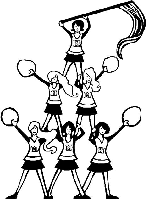 monster high cheerleader coloring pages free monster high cheerleading coloring pages