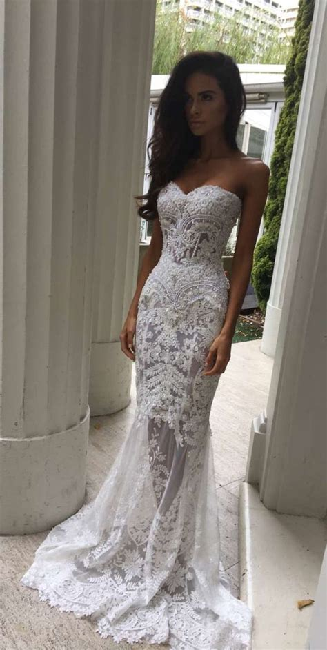 White Lace Wedding Dresses by Charming White Lace Wedding Dress S Sweetheart Bridal