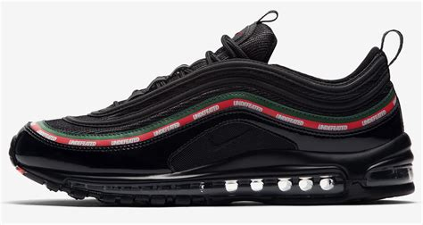 Undftd X Nike Air Max 97 Black a detailed look at the undftd x nike air max 97 quot black quot kicks
