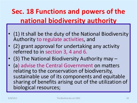 section 6 3 biodiversity biodiversity act 2002