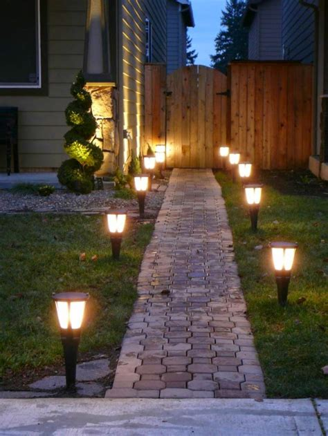 How To Use Led Garden Lights For Garden Decoration 37 Ideas Lights For Garden
