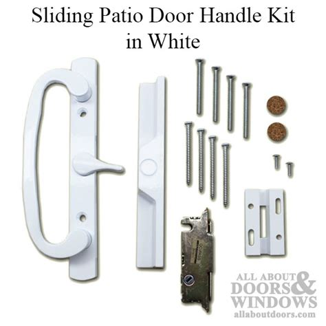 Pella Door Parts by Pella Patio Door Handle Vinyl Sliding Door Handle