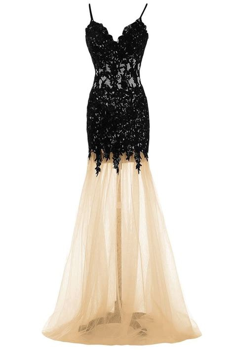 Spaghetti Tulle Dress lace tulle homecoming dresses spaghetti backless evening