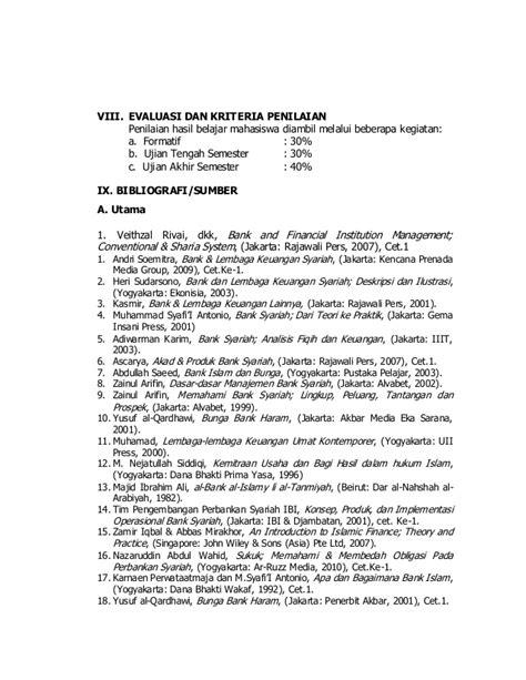 Bank Dan Lembaga Keuangan Syariah Deskripsi Ilustrasi Heri Sudarsono sap bank syariah