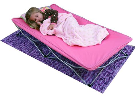 regalo   portable childrens kids folding bed baby