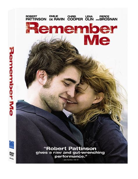 remember books remember me dvd cover robert pattinson australia