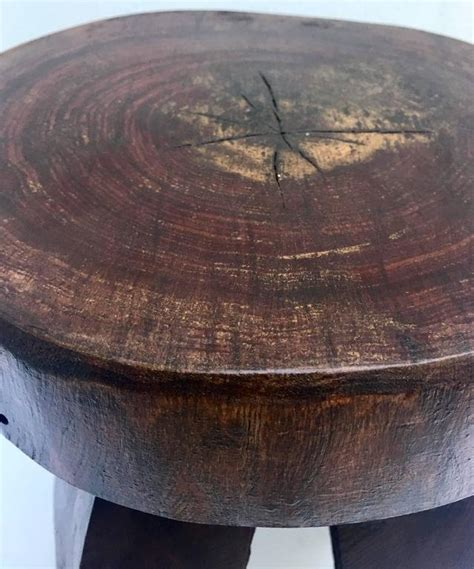 Tree Trunk Table L by Organic Modern Tree Carved Tree Trunk Side Table Or