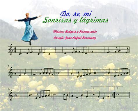 imagenes musical sonrisas y lagrimas la oreja musical partitura do re mi sonrisas y l 225 grimas