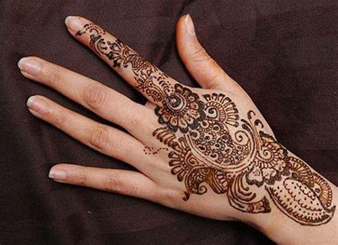 Simple Arabic Mehndi Designs For Hands Easyday Arabic Designs For
