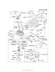 kawasaki fh680v ds29 4 stroke engine fh680v parts diagram for carburetor