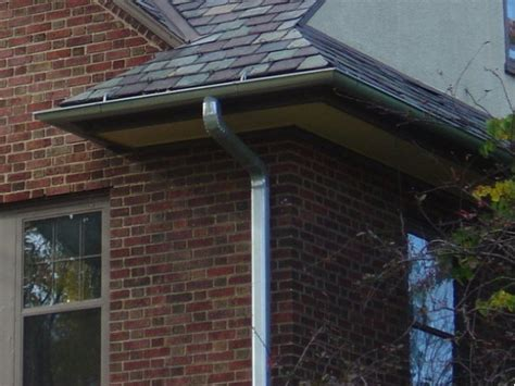 K Style Galvanized Gutters - click for a larger view