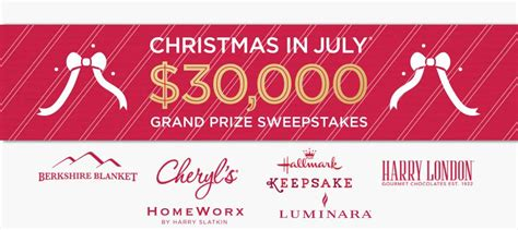 win 30 000 cash on qvc christmas in july sweepstakes contestbank - Qvc Christmas Sweepstakes