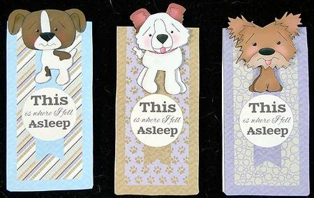 printable puppy bookmarks cute puppy dog magnetic bookmarks cup552127 1550