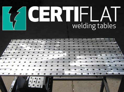 heavy duty 3 x4 welding table kit certiflat by tab slot