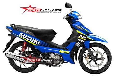 modif striping suzuki shogun 125 sp livery suzuki motogp