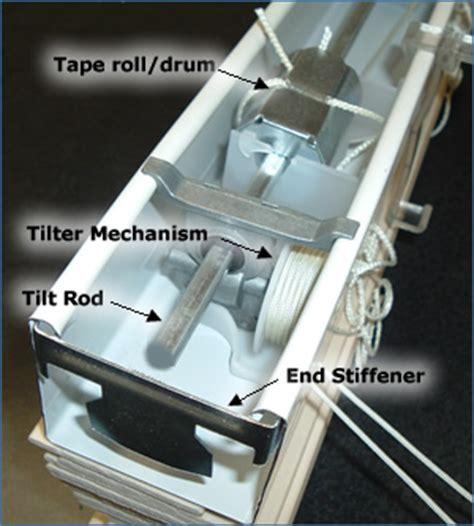 Replace Vertical Blinds How To Replace The Window Blinds Tilter Tilt Mechanism