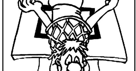 funny basketball coloring pages funny coloring page stuck in basketball hoop coloring
