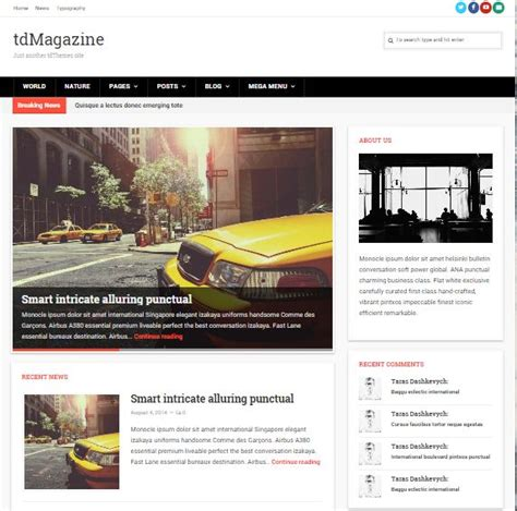 newspaper theme shop top 40 wordpress news themes for newspapers magazines