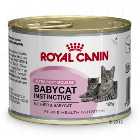 Royal Canin And Baby Food royal canin babycat instinctive mousse great deals at zooplus