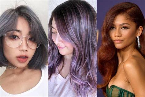 rambut ombre warna rambut trend  wanita cahunitcom