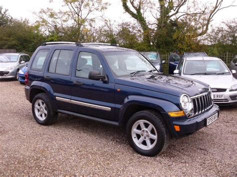 Used Jeep Cheroke Used Jeep 2005 Blue Paint Diesel 2 8 Crd Limited