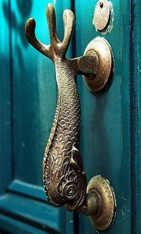 cool door handles  piece
