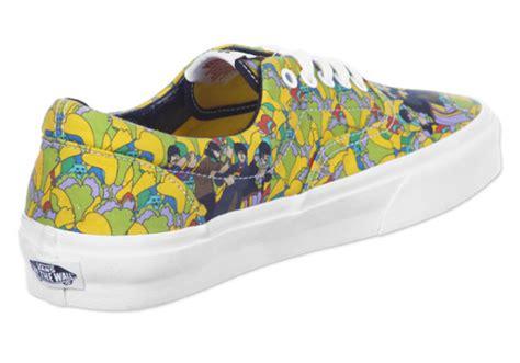 Harga Vans Yellow Submarine the beattles x vans yellow submarine pack sneakerfiles