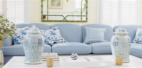 blue and white home decor marceladick