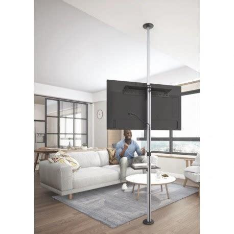 porta tv a soffitto supporto tv a piantana da pavimento a soffitto damon
