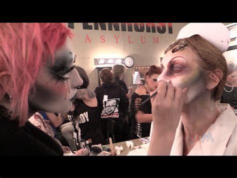 pennhurst asylum haunted house pennhurst asylum haunted house makeup and characters youtube