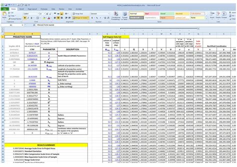 What Is A Spreadsheet Model by Evaluating Map Projection Scale Error Geographic
