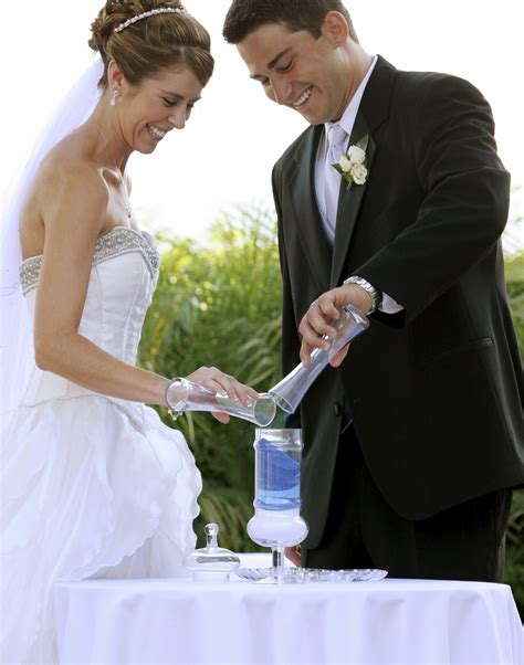 wedding traditions sand pouring ceremony how to plan the wedding sand ceremony to celebrate