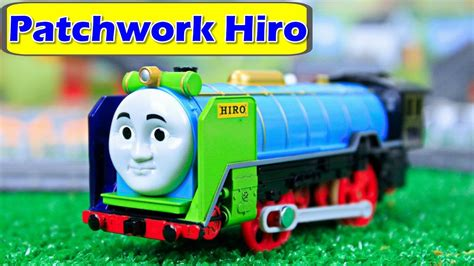 new and friends trackmaster patchwork hiro