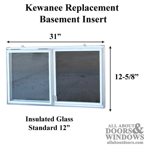 kewanee c 310a k 12 aluminum basement window insert dual