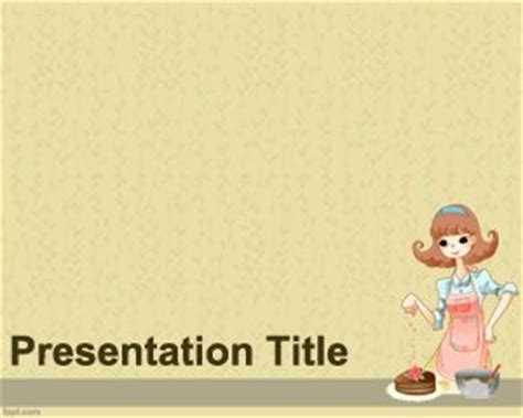 Bakery Powerpoint Template Recipe Powerpoint Template