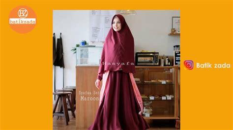 Baju Muslim Syari 18 gamis syari terbaru cantik edisi 2018