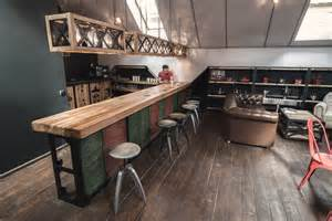 Rustic Bar Top Ideas by The Essence Of A Coffee Shop Captured In An It Office E