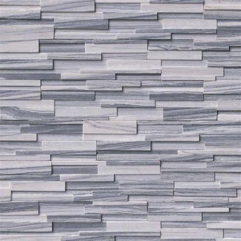 Alaska Grey 3D Honed Ledger/Stacked Stone Panels ? Sognare